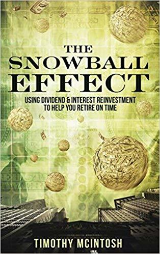 Snowball effect using dividend interest reinvestment to help you retire on time income generation