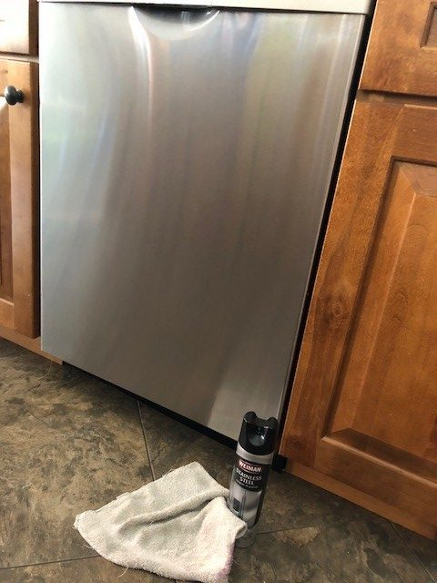 cleaning products for stainless steel dishwasher