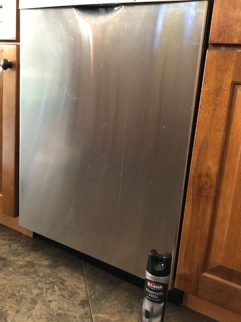 cleaning supplies for stainless steel dishwasher