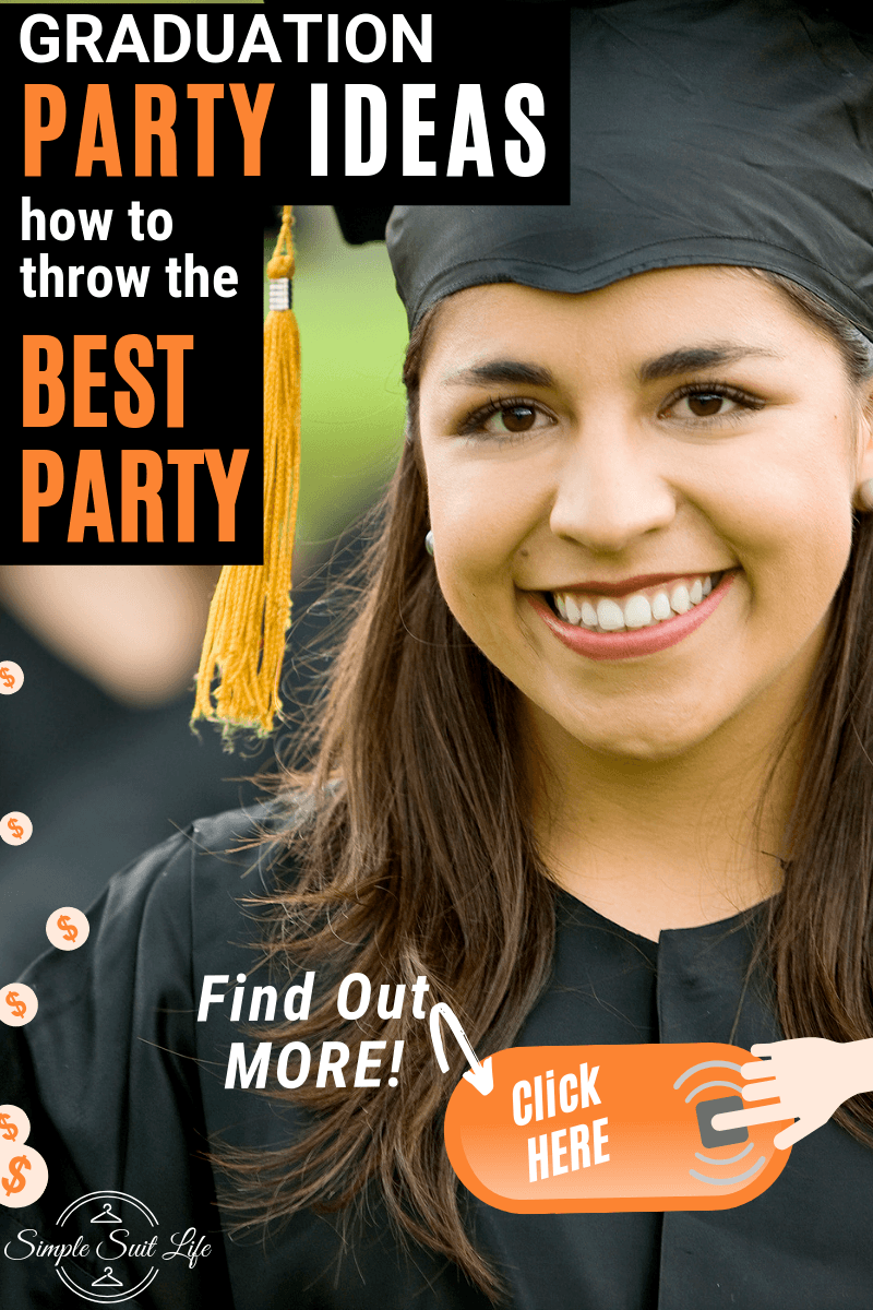 I like to make sure the parties I throw are fun and memorable. I think some of the best entertainment at parties are yard games and thoughtful scrapbooking tables to make a nice memory from the event as well as a photobooth or archway to take pictures under. These ideas are sure to be well liked by all guests! #GraduationPartyIdeas #FeedingACrowd #GraduationPartyFoodIdeas #GraduationDecorations