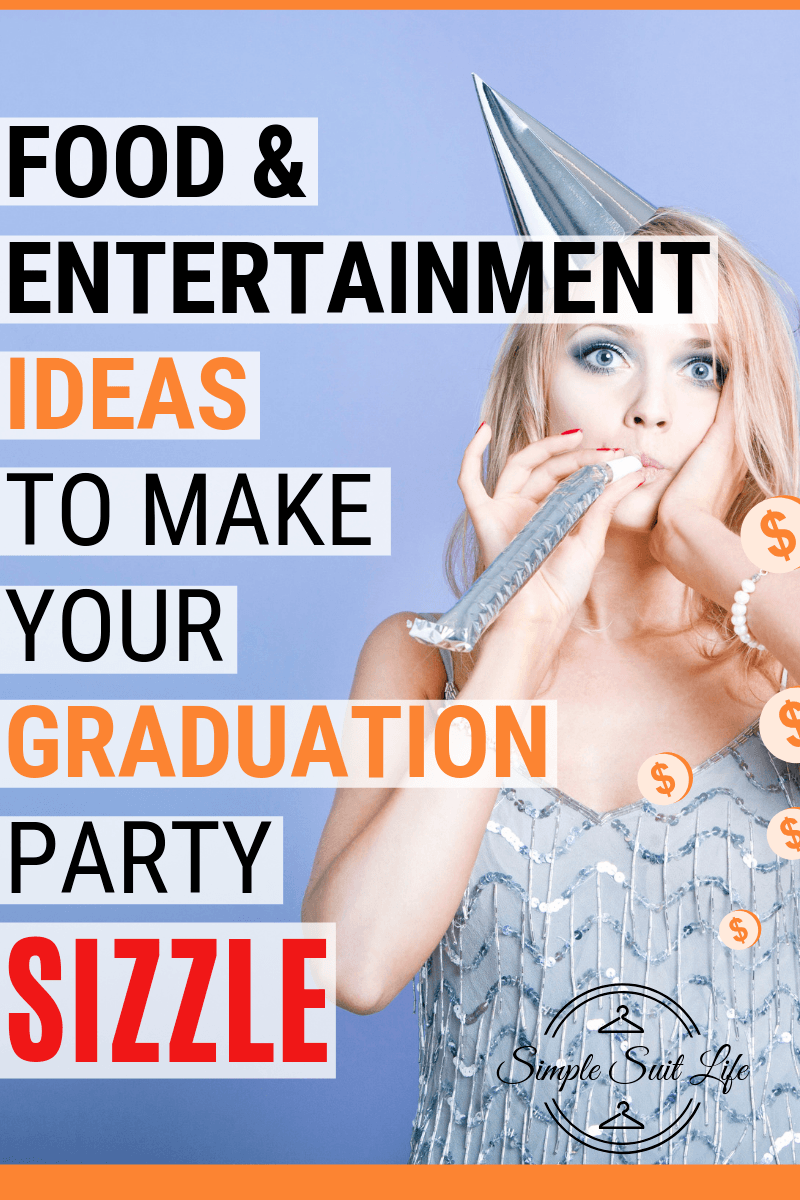 Nothing is more dissappointing than a graduation party where there is a table of dry buns, some meats and cheeses not being kept at room temperature and a punch in the awkward cups that leave a red ring around your lips. These are just a handful of food & drink ideas that I get excited about when I see at a party! #GraduationPartyIdeas #FeedingACrowd #GraduationPartyFoodIdeas #EasyPartyFoodgreat, simple ideas for keeping people (especially little kiddos!) busy, entertained and fed at graduation parties. They are fun activites and a for sure win to go over well with all guests. #PartyEntertainmentIdeasForKids #PartyFoodForACrowdOnABudget #GraduationPartyIdeas #GraduationPartyDecorations