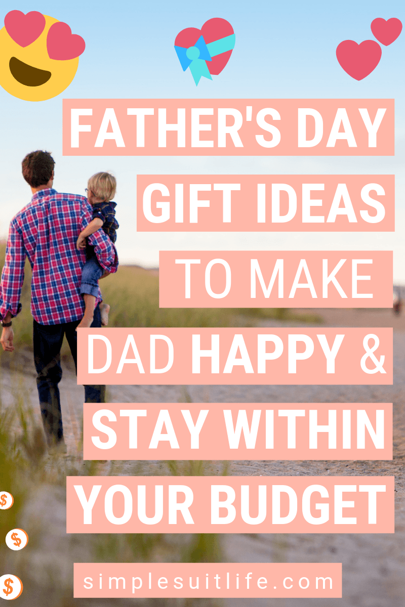 When buying Father's Day gifts, I like to purchase things that are useful to make life easier. This is not always easy because dads will often just buy what ​they need when they need it. Food, drink, men's grooming supplies and clothing options are my go-to. But you can't beat gifts you can DIY! #Father'sDayGiftIdeas