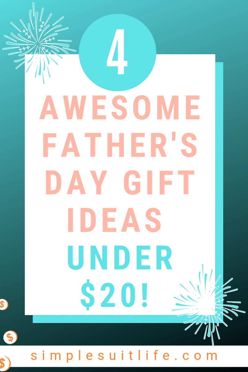 I never would have thought of these ideas for Father's Day gifts, but they make total sense and dad would enjoy! I bought an iphone stand and hair clippers for myself even! I love the fact that these are all ideas under $20.