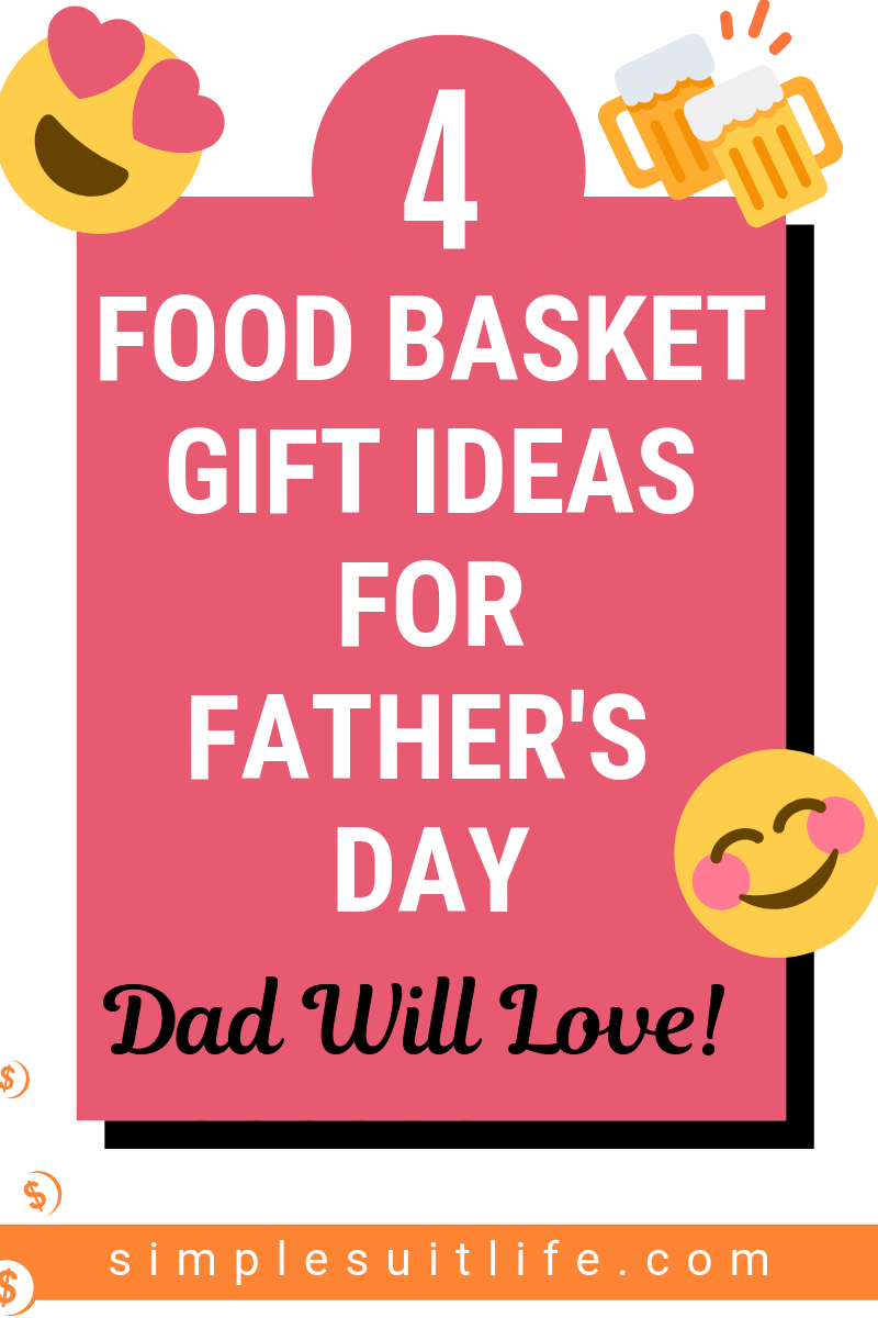 My dad loves to eat and so does my husband. Food basket gift ideas are a HIT in my family and they love to receive them on Father's Day or other special occassions throughout the year like birthdays. #Father'sDayGiftIdeas #Father'sDayMealIdeas