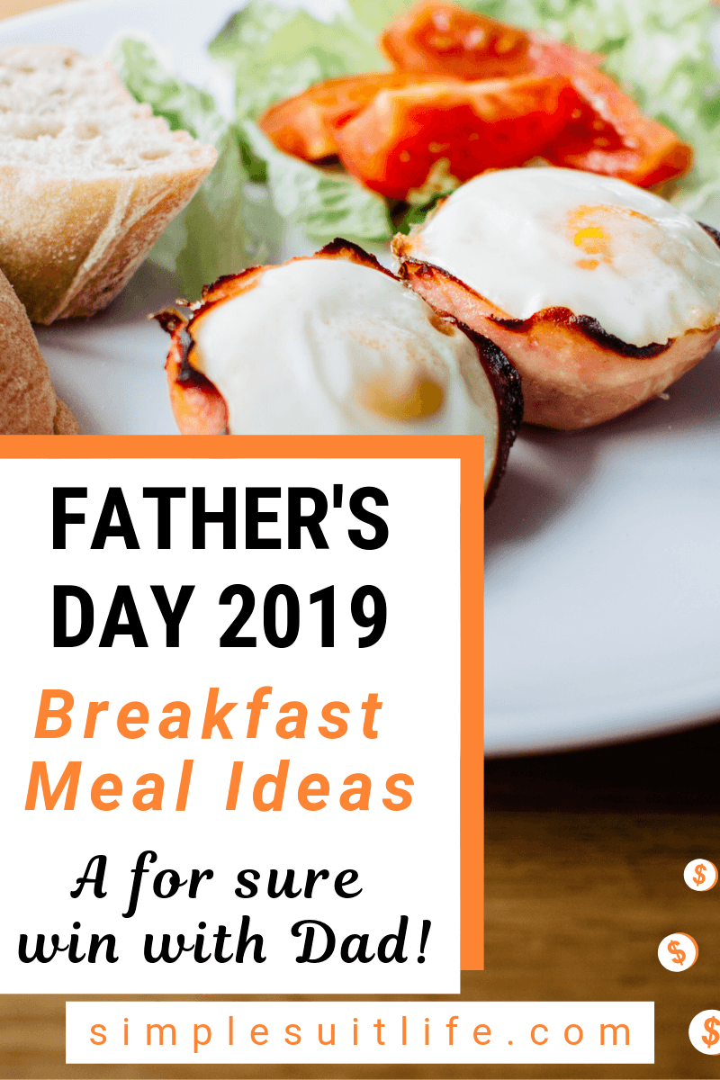 Breakfast and brunches are my most favorite meals to eat - AND they go over really well if you are serving them for events like Father's Day! Breakfast food is very cheap and easy to make to serve to a crowd! #Father'sDayBreakfast #Father'sDayFoodIdeas
