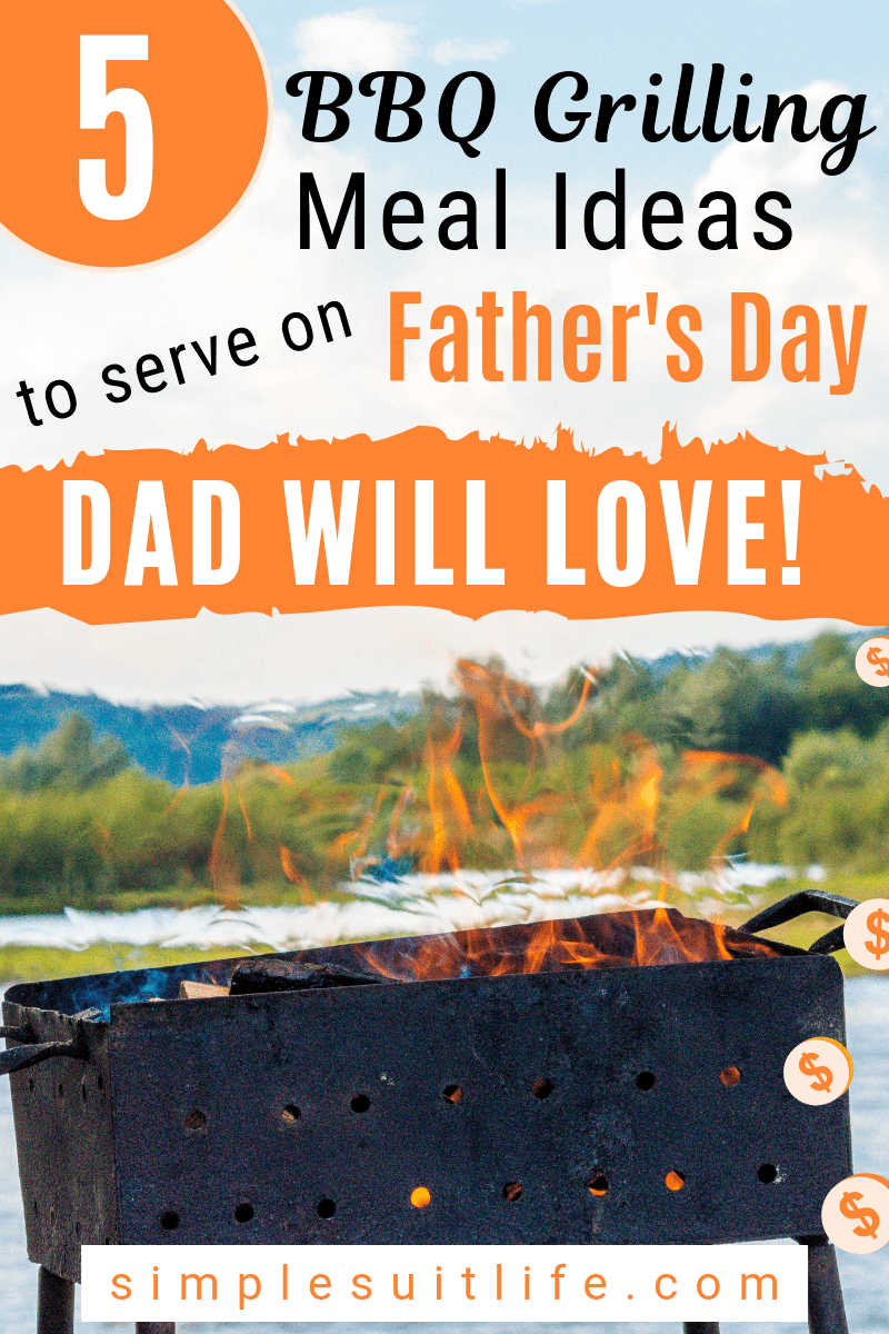 Grilling is my absolute most favorite thing to do on a nice summer day, especially hosting! These are the best BBQ gilling meal ideas to serve on Father's Day! We use a smoker and enjoy extra time with family while the food cooks. #Father'sDayFood #Father'sDayBBQGrill