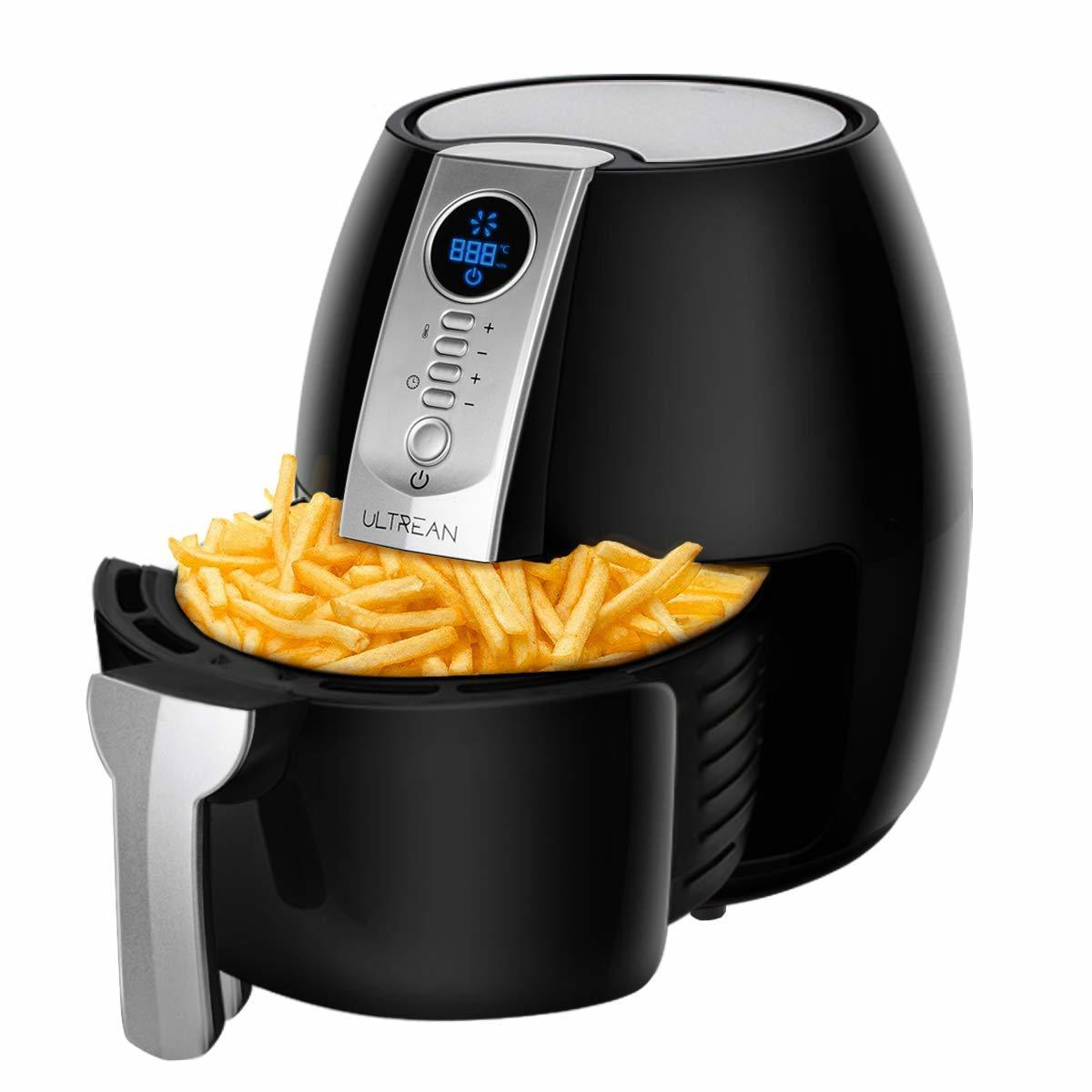 air fryer for food and appetizers at a graduation party
