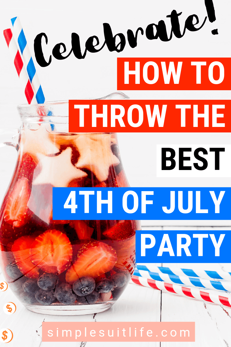 Christmas In July Party Food.4th Of July Party Ideas Throw A Fun Sizzling Summer Party