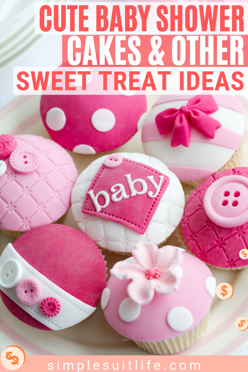 ​When you think of baby showers, you think of the sweet desserts. Well, at least I do! If you are hosting, mini desserts are a great way for guests to sample more variety. Plus you can goHere are some delicious treat ideas for a baby shower! #BabyShowerCakes #BabyShowerFoodIdeas