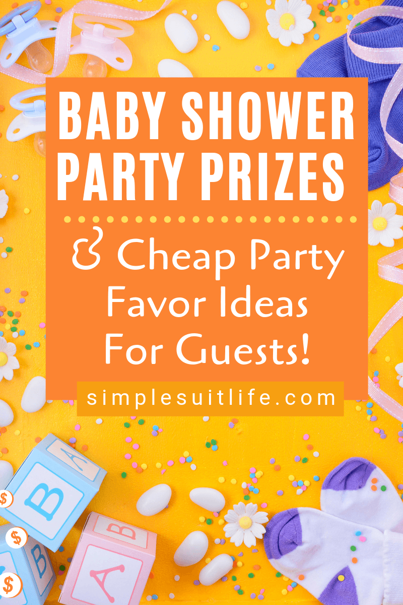 ​It's always a great idea to give your guests some prizes and party favors for attending. The prizes and party favors don't have to break the bank. And they should be something useful so they don't get thrown away when the guests arrive home. Here are some fun baby shower party favors! #BabyShowerCheapPartyFavorIdeas #BabyShowerPartyFavorsForGuests